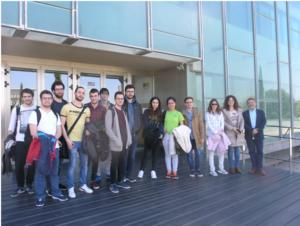 Visita de alumnos de la E.S. Informática de Albacete