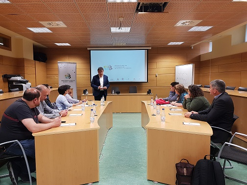 El PCTCLM recibe la visita de la delegación argentina de Rio Grande