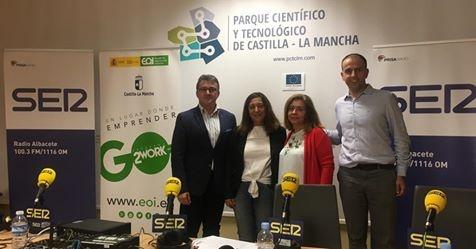 Hoy por Hoy Albacete se emitió ayer desde la sede del Parque para hablar del Go2Work Albacete III Edición