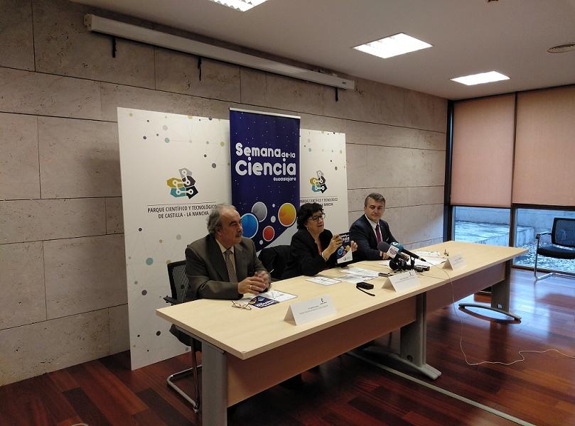 Hoy el Parque ha presentado la VI Edición de La Semana de la Ciencia en Guadalajara
