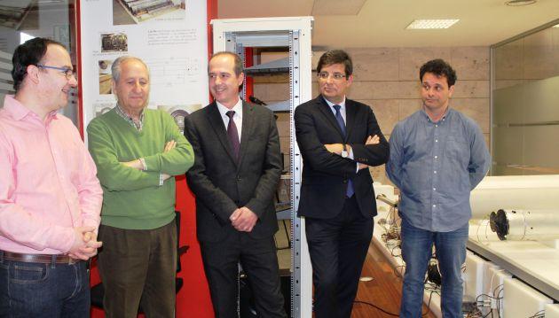 El Delegado de la Junta en Guadalajara y el Vicerrector de Relaciones Institucionales de la Universidad de Alcalá han visitado nuestro Parque Científico y Tecnológico para conocer los proyectos de investigación albergados.