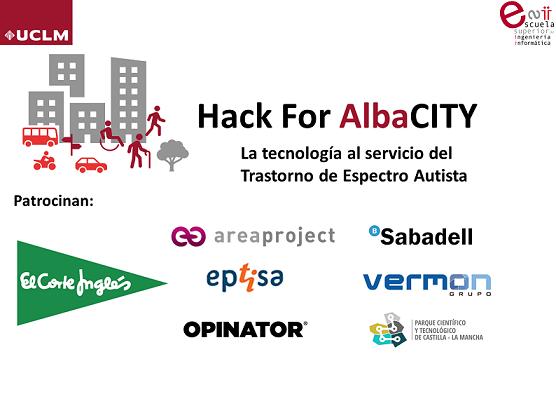 El PCTCLM colabora en el patrocinio de Hack for AlbaCITY: Albacete y la atención al Autistmo