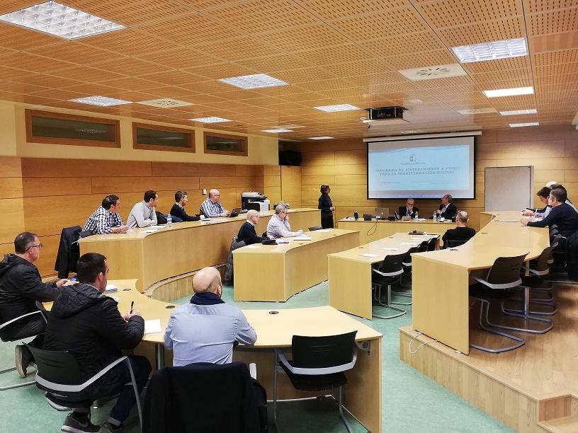 Celebrada la jornada de presentación del programa de asesoramiento a pymes para la transformación digital que impulsa la junta de comunidades de Castilla La Mancha