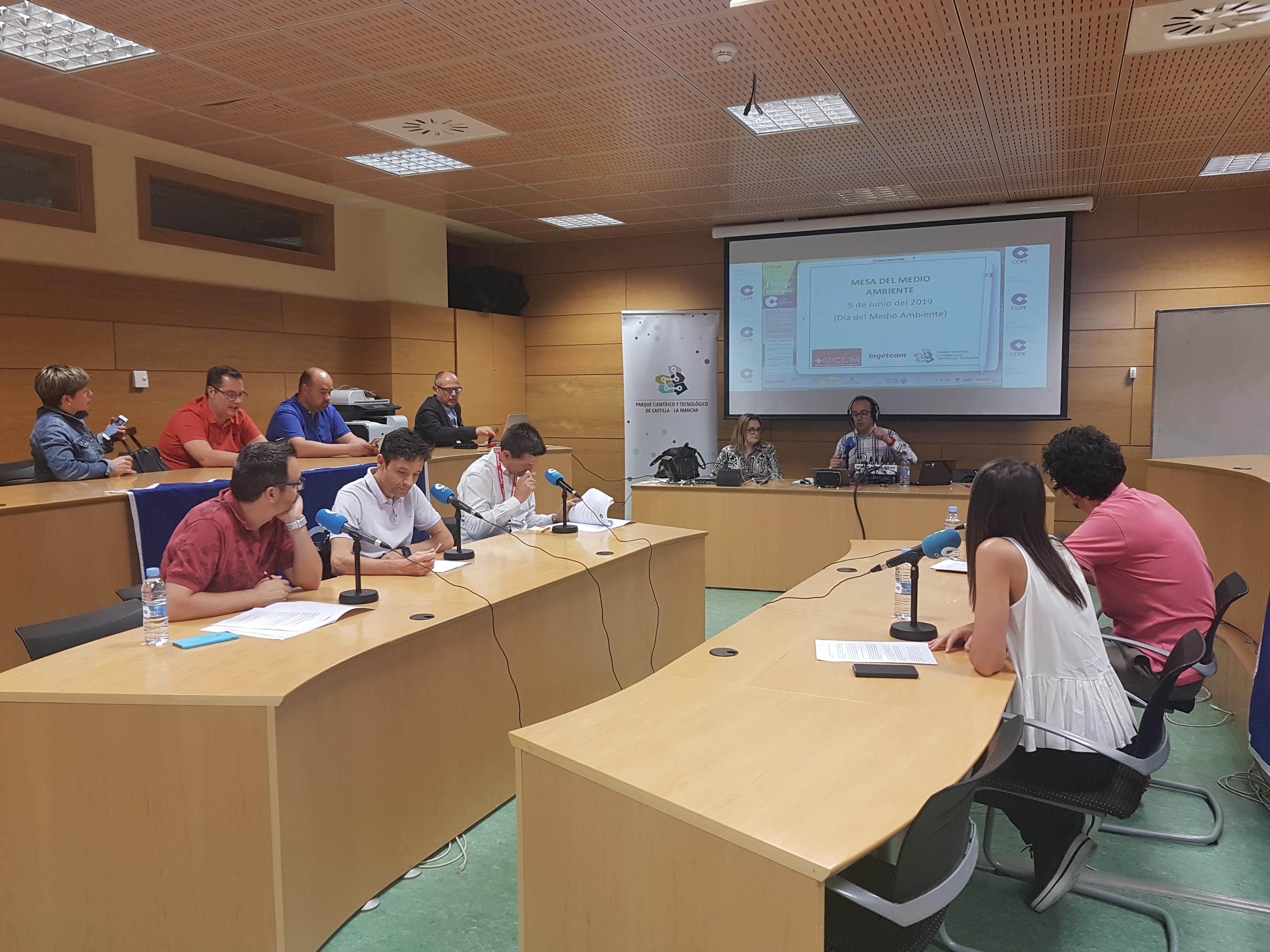 El PCTCLM celebra el Día Mundial del Medio Ambiente con una mesa redonda organizada y difundida por COPE_Albacete y en colaboración con la UCLM e Ingeteam
