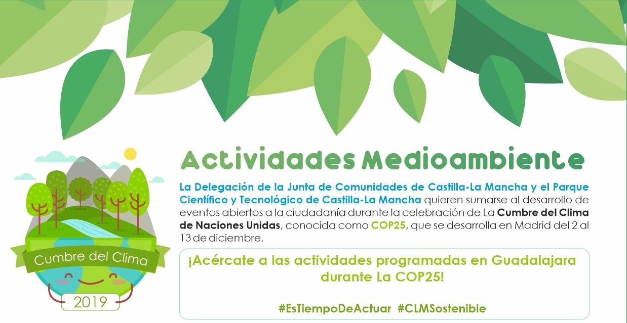 NUESTRO PCTCLM EN GUADALAJARA SE SUMA A LAS ACTIVIDADES DE LA COP25
