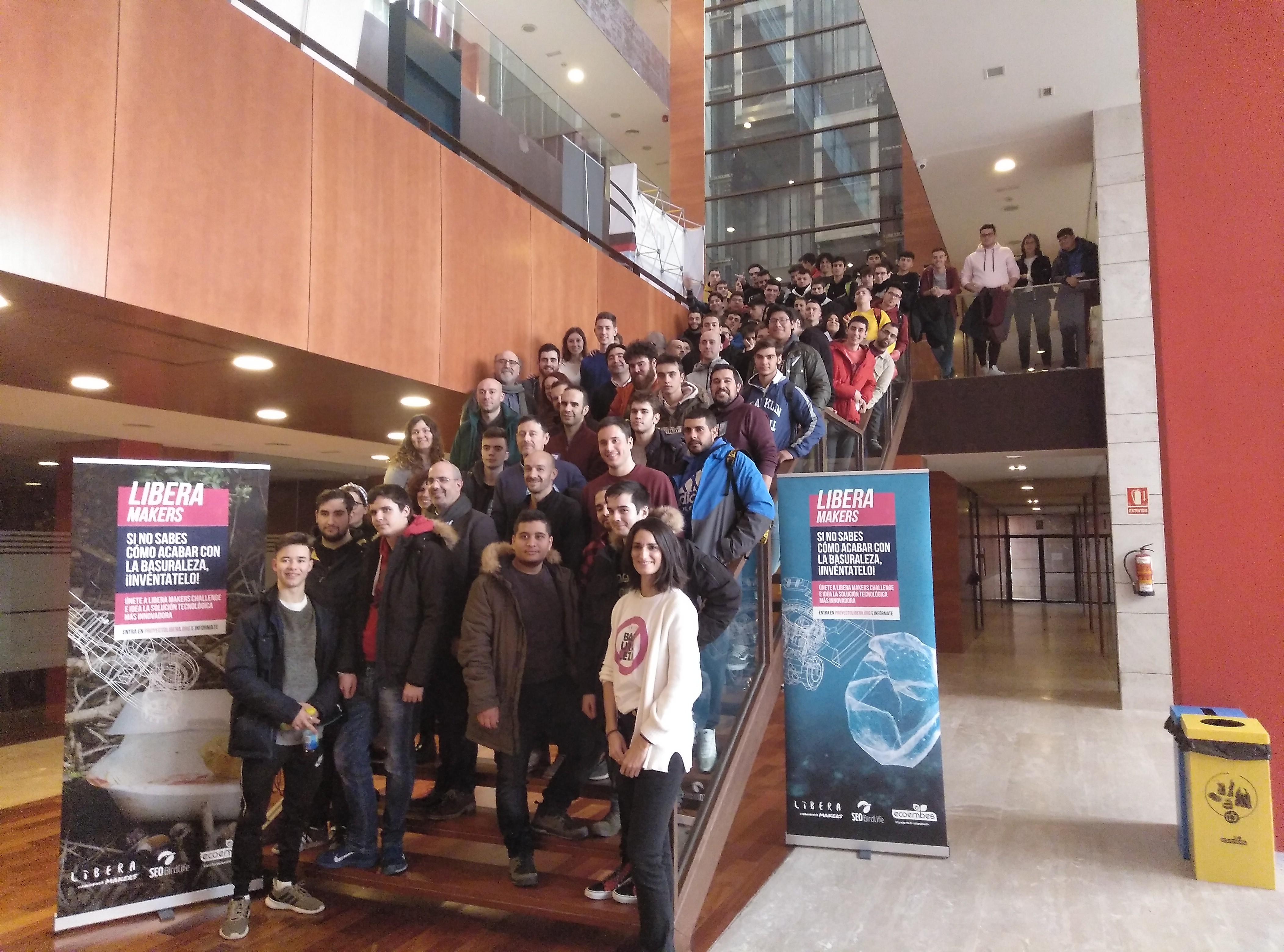 Celebración de la primera parada de Libera Maker en nuestro PCTCLM en Guadalajara