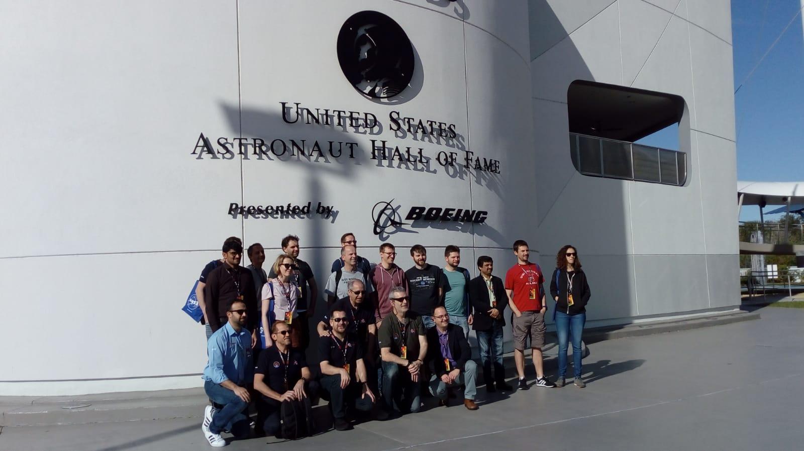 Madrugada emocionante en el Parque Científico y Tecnológico en Guadalajara siguiendo el lanzamiento de la Misión Solar Orbiter con los investigadores desplazados en Cabo Cañaveral.