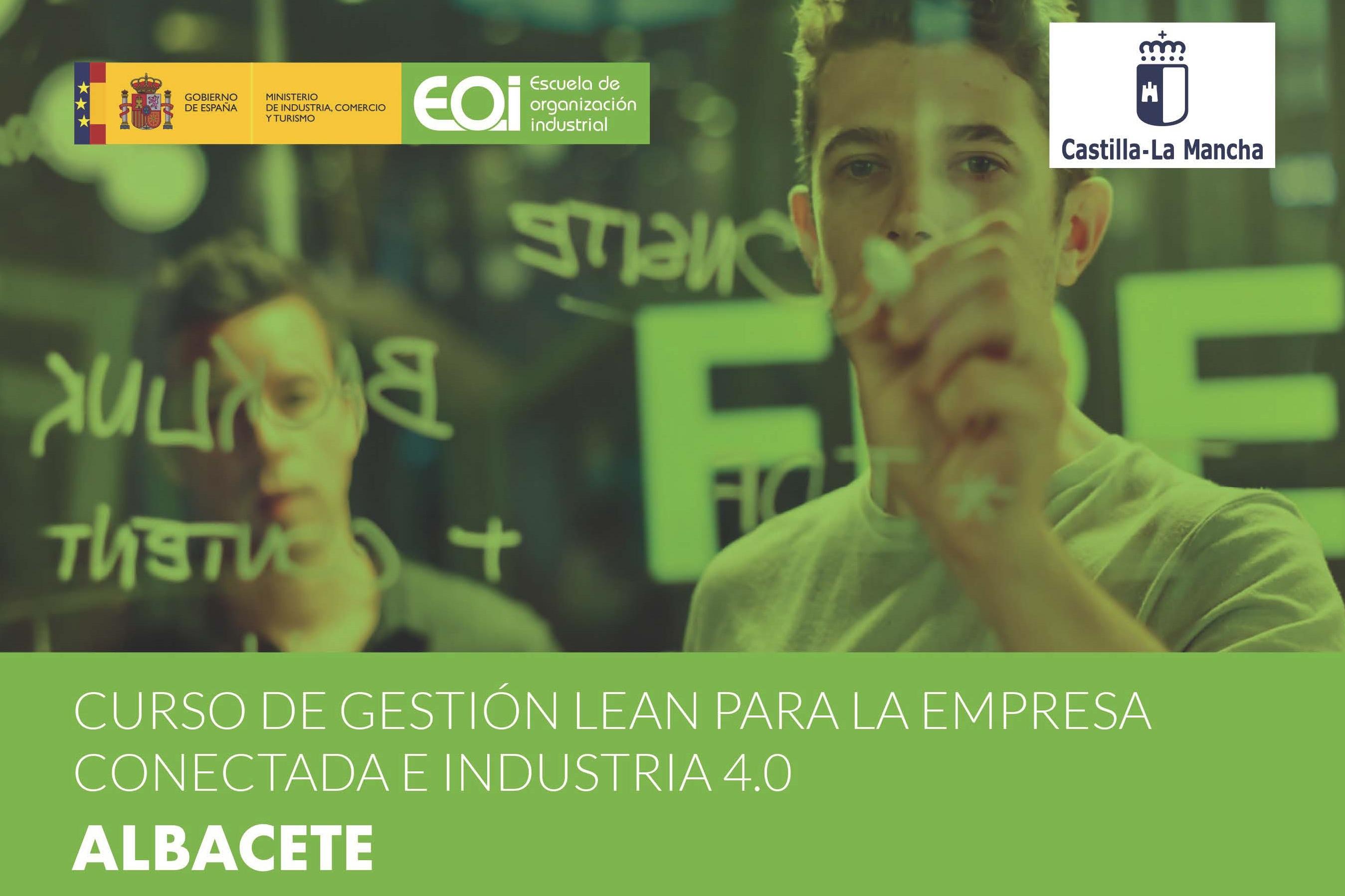 Curso de Gestión Lean para la Empresa Conectada e Industria 4.0 impartido en nuestras instalaciones en Albacete