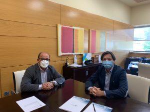 Firma del contrato para la integración de Cancerappy en el PCTCLM
