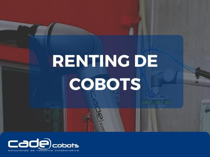CADE Cobots ofrece renting de robots colaborativos