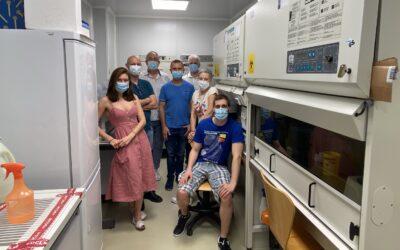 CIENTÍFICOS DEL CRIB Y EL IDINE COLABORARON CON EL HOSPITAL DE ALBACETE EN LA ETAPA MÁS CRÍTICA DE LA PANDEMIA