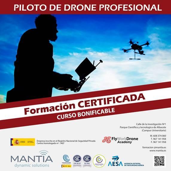 INICIAMOS NUEVO CURSO DE PILOTO DE DRONES