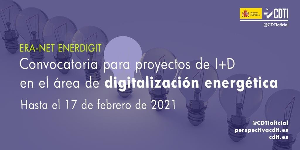 Ayudas para proyectos de digitalización energética