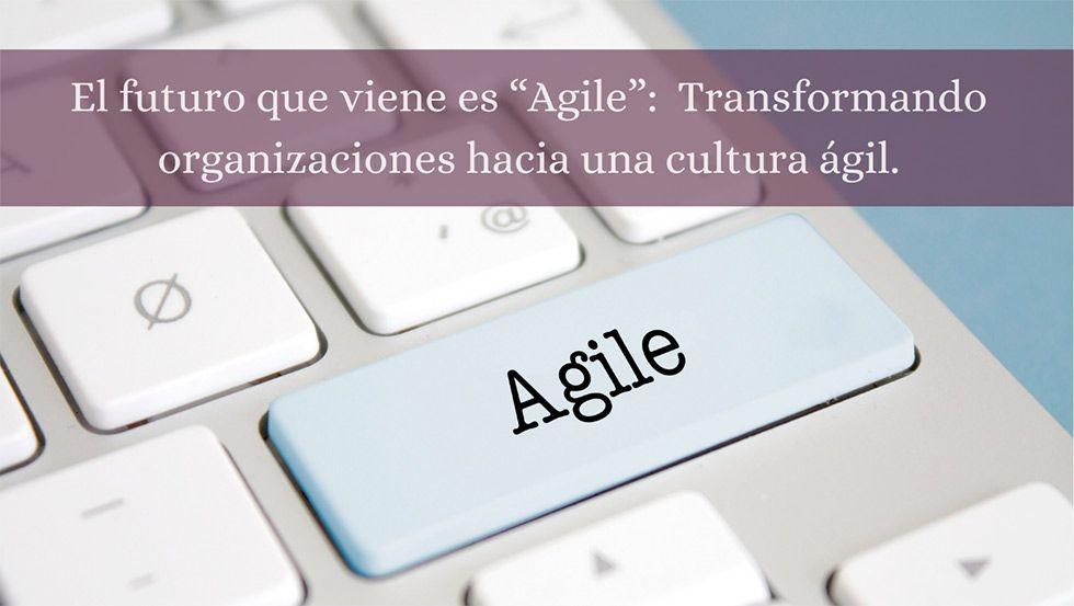 TRANSFORMANDO ORGANIZACIONES HACIA UNA CULTURA ÁGIL