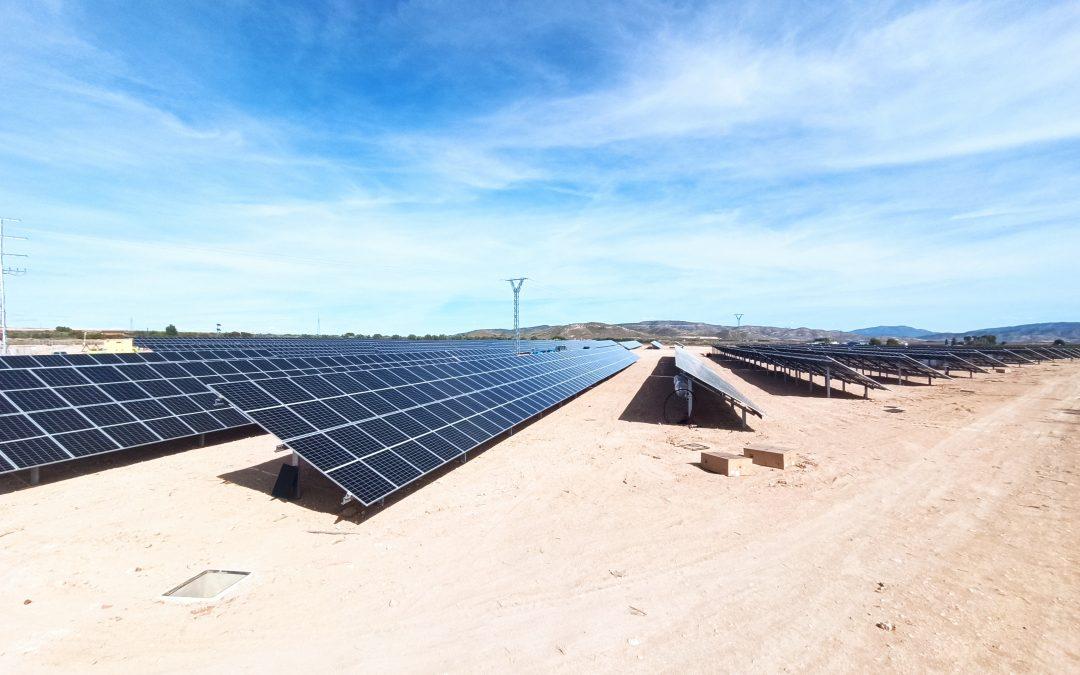 Ya está funcionando la huerta solar construida por ATERSOL en Caudete