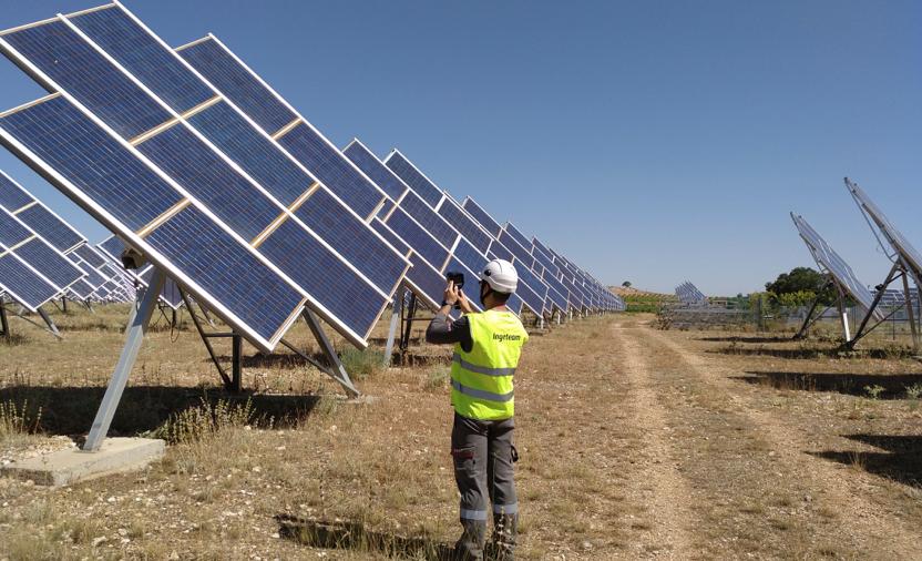 Ingeteam lidera un novedoso proyecto para el mantenimiento de plantas fotovoltaicas