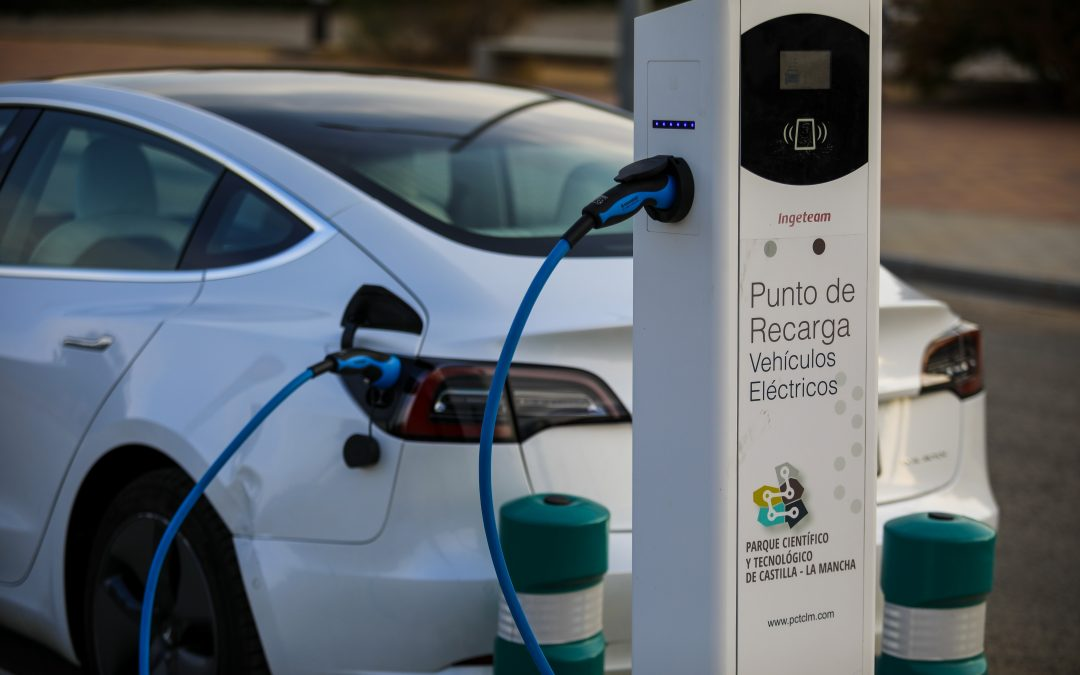 Punto de recarga de coches eléctricos para empresas del PCTCLM