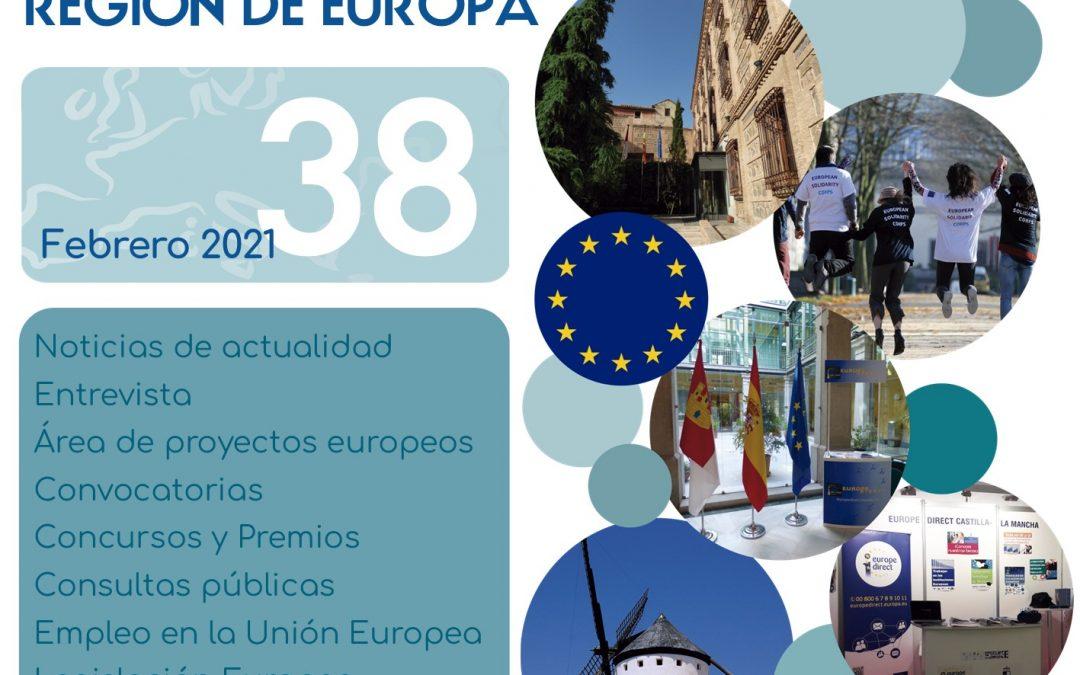 Especial sobre la Mujer y la Niña en la Ciencia en el Boletín CLM Región de Europa