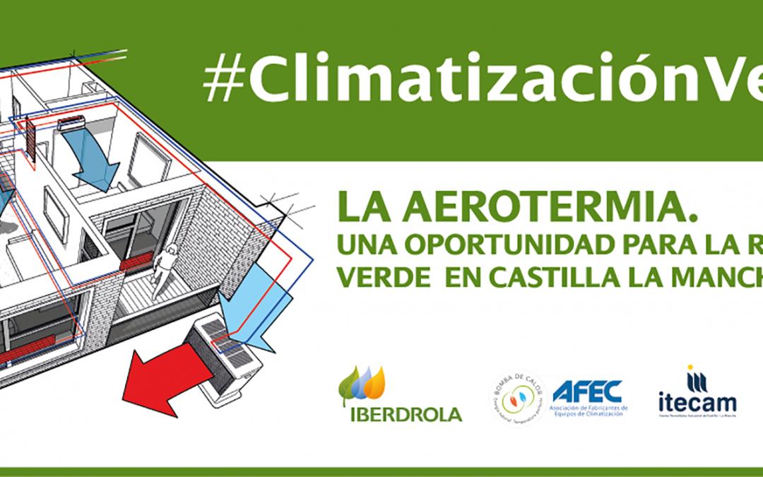 La aerotermia como oportunidad para la recuperación verde de Castilla-La Mancha