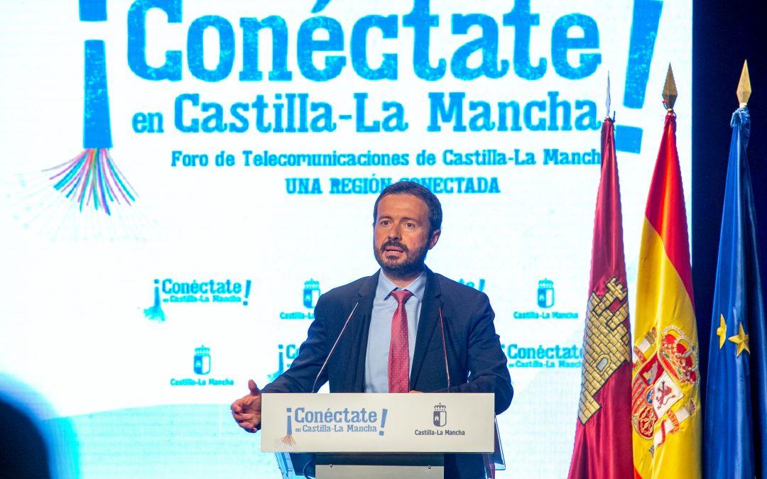 CLM presenta su Estrategia de Telecomunicaciones