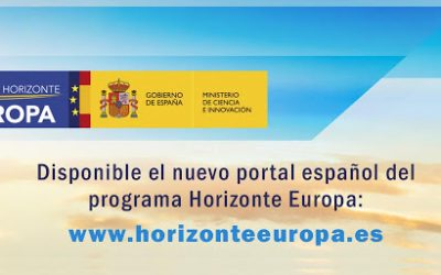 Nuevo portal web de Horizonte Europa
